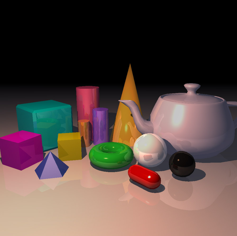 Ray traced primitives
